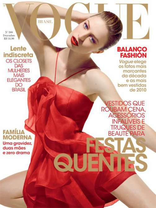 Raquel Zimmermann - Vogue Brazil, december 2010.