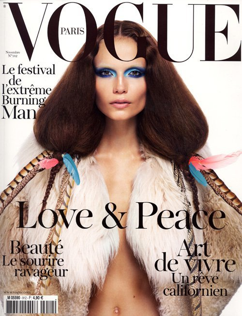 Natasha Poly - Vogue Paris, november 2010.
