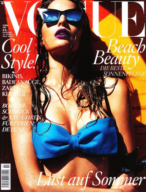 Cameron Russell - Vogue Germany, july 2010.
