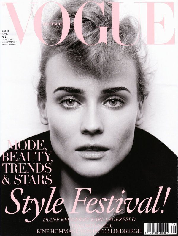 Diane Kruger - Vogue Germany, april 2010.