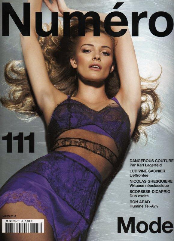 Edita Vilkeviciute - Numéro 111, march 2010.
