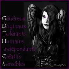 Diffinition du mot gothique!