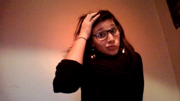 Bref, j'ai des lunettes.
