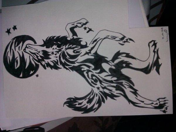 Loup hurlant