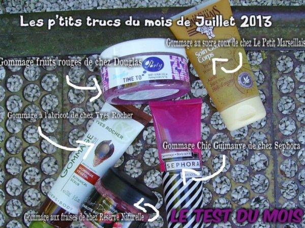 Les p'tits trucs du mois de Juillet 2013 : le test du mois !