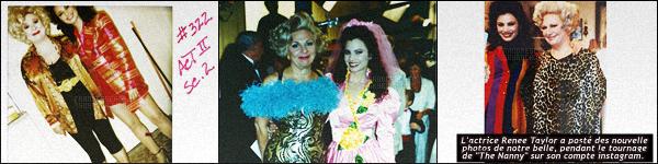 - 03/03/16 : Fran Drescher s'est rendue à la grande séance dédicacé du livre « My Elizabeth » s'est déroulé à New York. Notre belle est une fan de Elizabeth Taylor, dont ce livre est dédié à celle-ci écrit par Firooz Zahedi et Tomas Maier qui sera remit à une fondation -