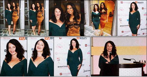 - 05/05/16 : Fran Drescher a assistée à l'événement « 57th Annual Genii Awards » qui s'est déroulée à Los Angeles. -