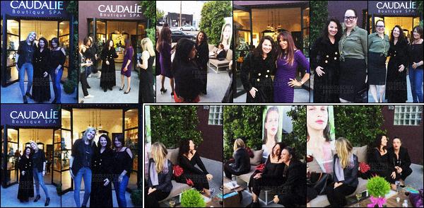 - 04/05/16 : Fran Drescher a assistée a la grande événement de « Caudalie / SPA » qui s'est déroulé à Los Angeles. L'association « Cancer Schmancer » fondé par la belle, qui était a l'honneur lors de ce événement par la boutique. Source : CancerSchmancer.org. -