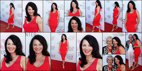 - 07/07/16 : Fran Drescher a assistée à l'événement « The Music Center's Summer Soiree Honoring », Los Angeles -