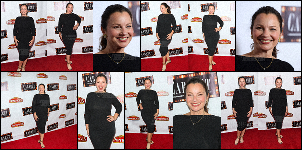 - 20/07/16 : Fran Drescher a assistée a l'ouverture de nuit de « Cabaret » dans The Pantages Theatre à Hollywood.  -