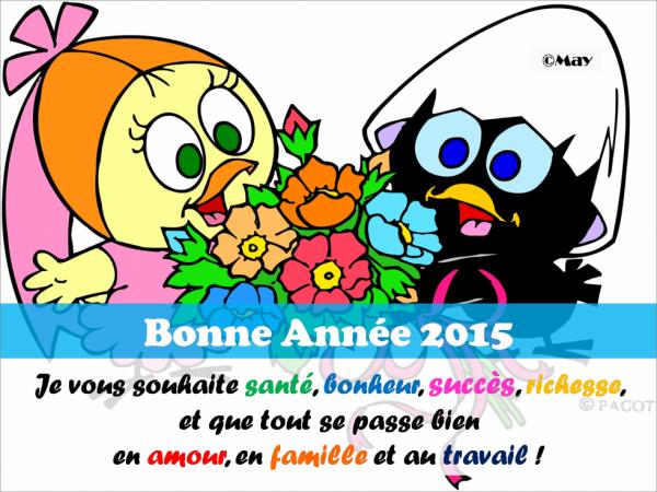 Bonne et heureuse année à tous et toutes !!!