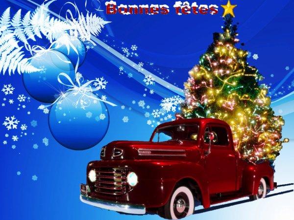 Bonnes fêtes à tous !!!!