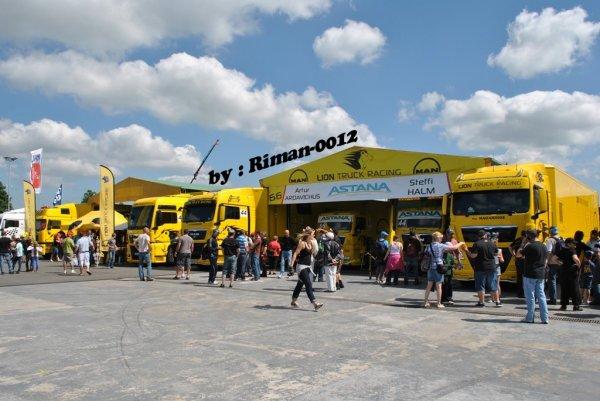 Grand-Prix Camions à Magny-Cours le 29 & 30 juin 2013 ----> QUELQUES PHOTOS DES PADDOCKS