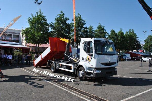 Grand-Prix Camions à Magny-Cours le 29 & 30 juin 2013 ----> ESPACE PALFINGER