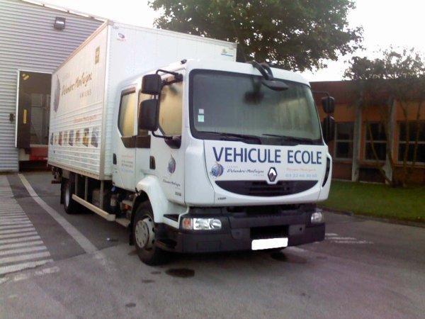 Les véhicules du Lycée Montaigne.... (Amiens, 80)