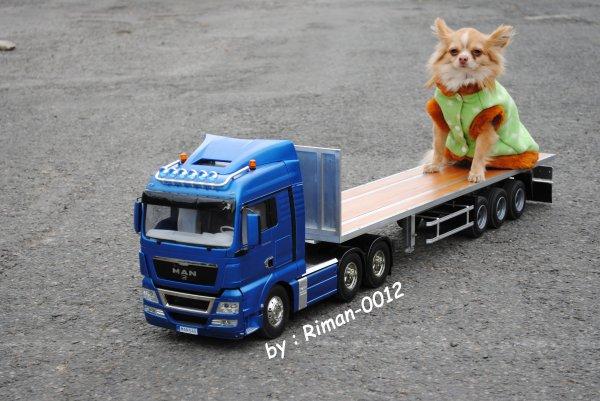 Rassemblement de camions à Chaulnes le 11/04/2015