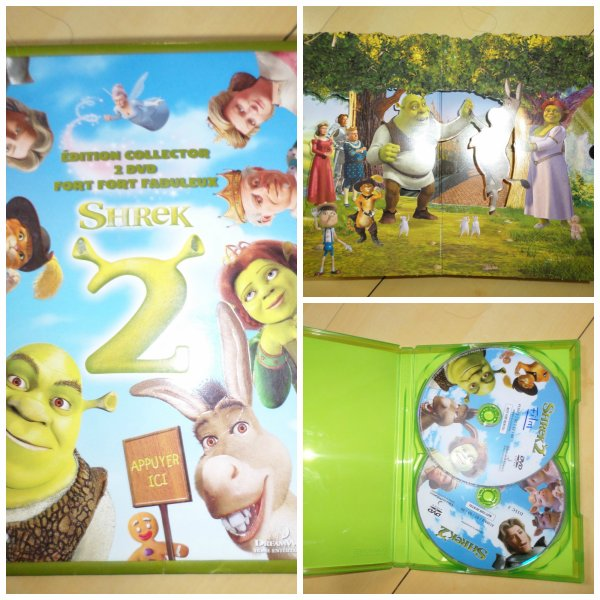 Vends dvd shrek 2 edition collector 2 dvd fort fort fabuleux