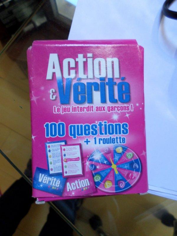 Vends jeu action vérité