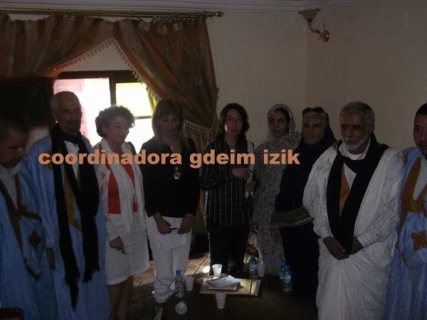صور من لقاء اعضاء من تنسيقية اكديم أيزيك