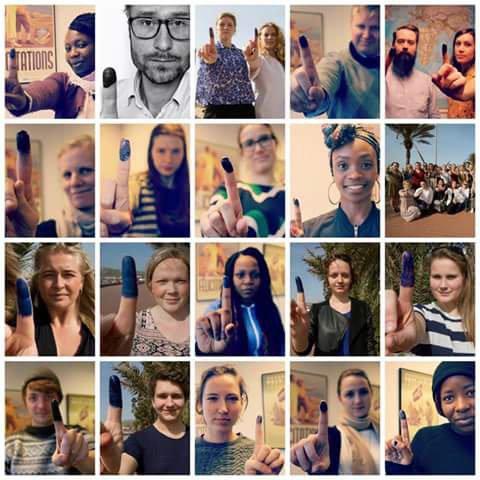 حملة النشطاء النرويجيين على مواقع التواصل الاجتماعي /  اولاد البوليساريو
