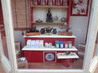 La boutique de thé