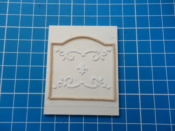 Nouvelle vitrine (échelle 1/12ème) La plaque de cheminée