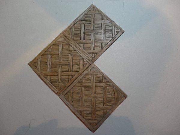 Nouvelle vitrine (échelle 1/12ème) le plancher