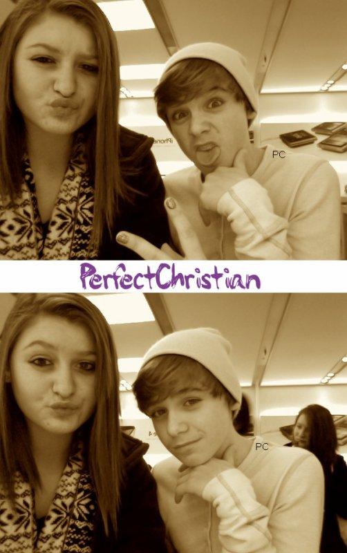 ☀ Christian a recontrer TayTay c'est  une fille qui a un grave cancer + Petite photo Bonus .