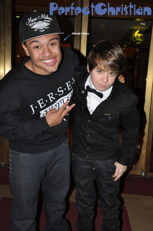 ☀ Christian était présent à l'anniversaire des 14 ans de Cody Simpson