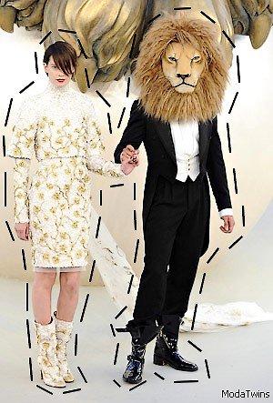 ~ Chanel sous le signe du Lion.