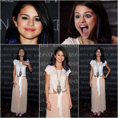 Selena Gomez: pésente au concert de charité organisé par l'UNICEF.