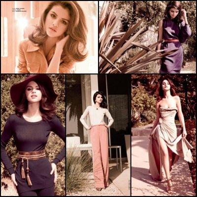 Selena Gomez: pour le magazine ELLE Mexico.