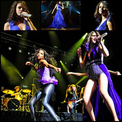 22/01/2012 /Selena Gomez: à son concert à Puerto Rico.