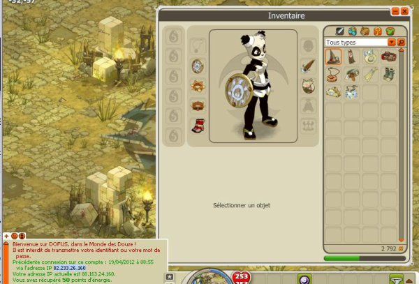 Mini hack du panda