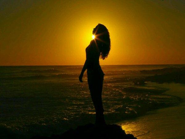 Le reflet du corps..au reflet du soleil...