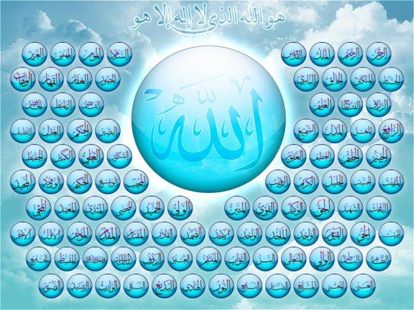 asmaa allah alhosna image