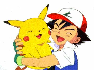 pikachu et sacha