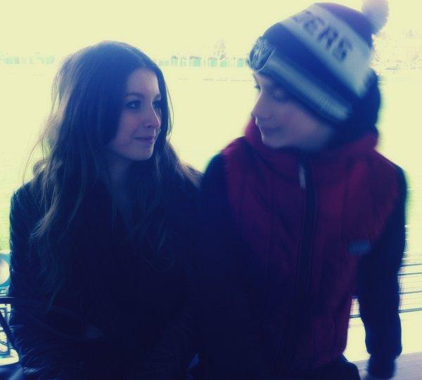 Depuis 7ans, on est aaaaal ! Je t'aime.♥