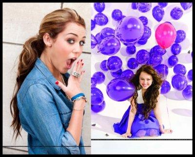 L'évolution des photoshoots de Miley
