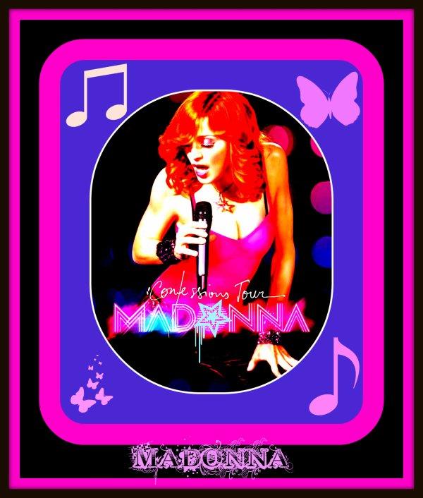 Création Madonna. ( A retrouver dans la catégorie Créations originales MADONNA)