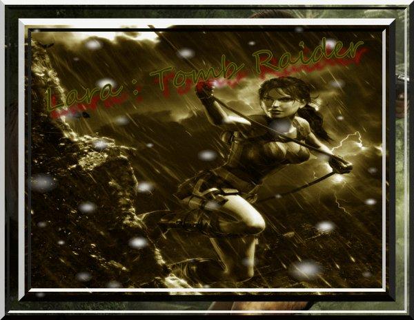 Lara Croft Attention danger !!