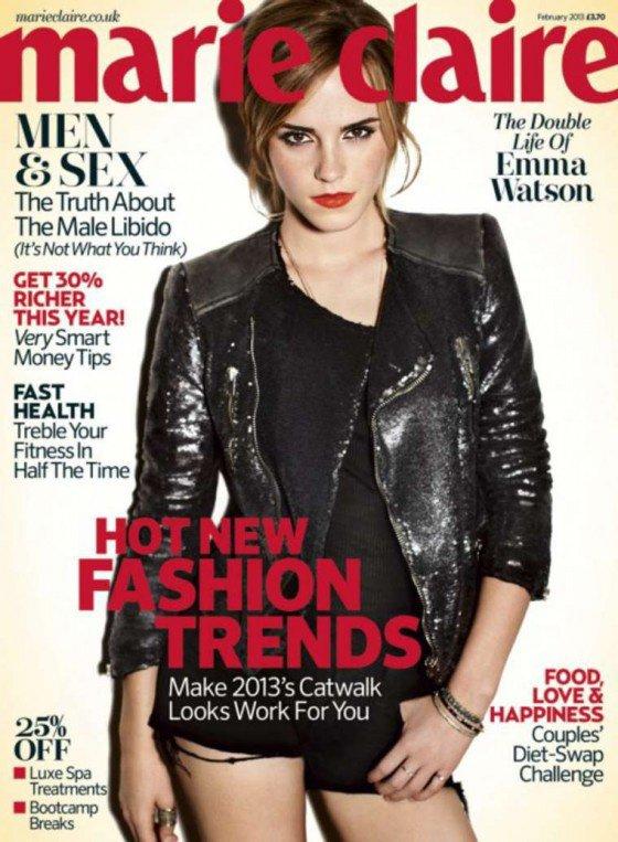 """Edition Février 2013 du magazine """"Marie Claire"""""""