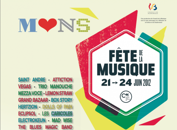 Retrouvez Saint André en concert cet été 2012 en BELGIQUE !!!!