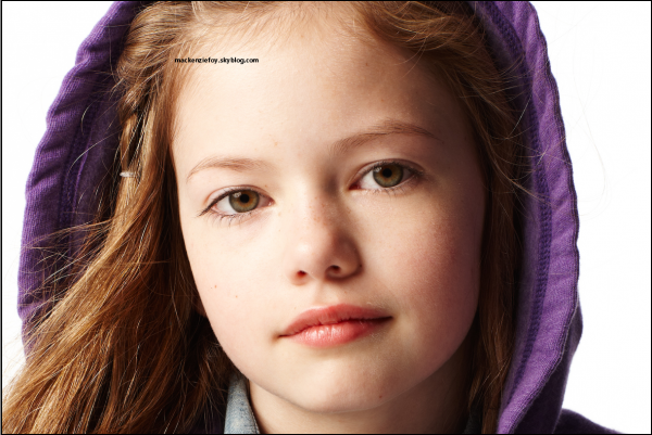 .Kenzie shoot Gap Kids + ses petits dessins :D .