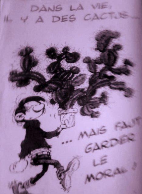 Les Cactus par Jacques Dutronc, suivi de Gaston Lagaffe