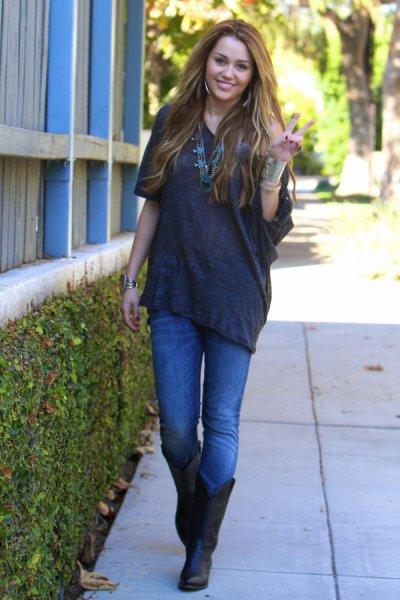 Inspira-te na Miley Cyrus - Skynni Jeans