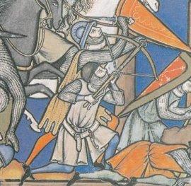 SOLDAT AU MOYEN AGE : L'ARBALETRIER