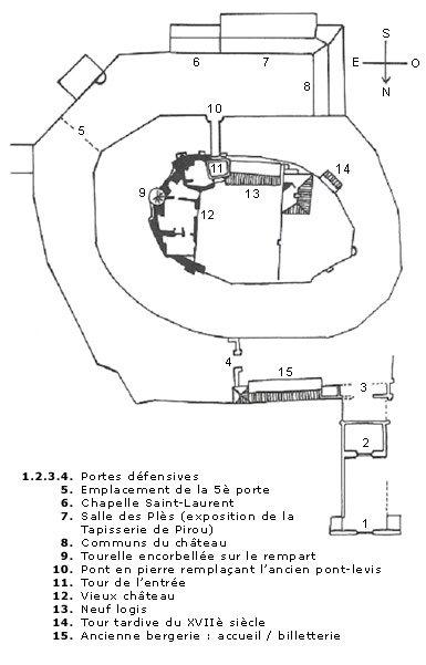 MES CHATEAUX FAVORIS : PIROU (50)