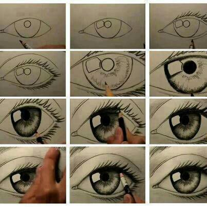 comment dessiner un oeil magnifique *o*
