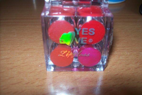 cubes gloss 8 couleur
